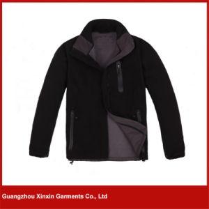 Custom Women′s Winter Jacket, Softshell Jacket, Waterproof Polar Fleece Man (J79) pictures & photos