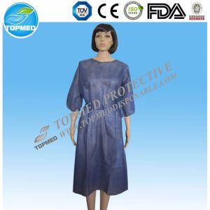 Surgical Medical Hospital Non Woven Isolation Gown. Visit Gown pictures & photos