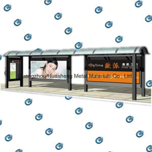 Customizable Bus Stop Station for Advertising pictures & photos
