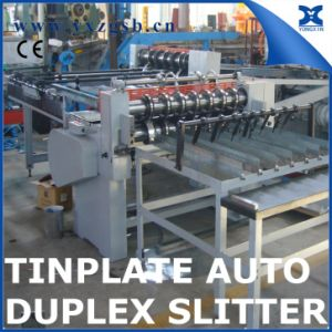 Automatic Tinplate Duplex Slitter for Tin Can Making pictures & photos