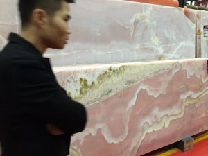 Pink Onyx Purple Jade Onyx Marble for Decoration Wall and Floor pictures & photos