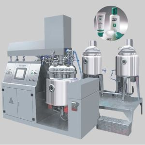 Vacuum Mixing Emulsifier for Making Cosmetic/Cream/Ointment pictures & photos