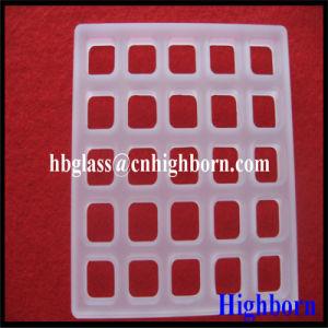 Manufacurer Grind Quartz Glass Slide pictures & photos