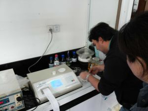 ASTM D4294 Xrf Sulfur Content Analyzer pictures & photos