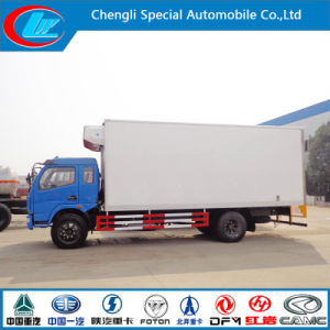 4X2 Dongfeng Freezer Truck Refrigerator Truck Transport Food Cooling Well pictures & photos