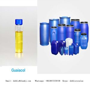 Super Solvent Guaiacol CAS: 90-05-1 Light Yellow Liquild pictures & photos