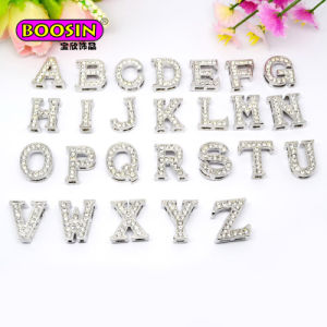2015 Hot Selling Crystal Letter Pendant Alphabets Pendant for Necklace pictures & photos