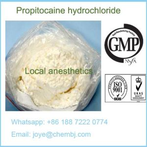 Local Anesthetic Propitocaine Hydrochloride/Propitocaine Hci CAS 1786-81-8 pictures & photos