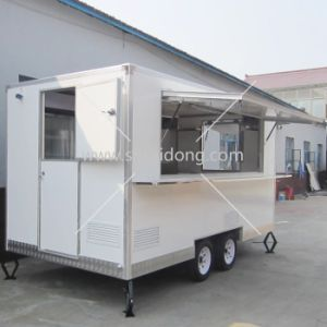 china used mobile kitchen catering trailer for sale with resonable