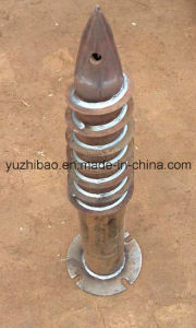 HDG or Powder Coated Steel Ground Screw Anchor for Building, pictures & photos