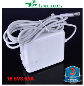 Top Quality 16.5V 3.65A Laptop AC Power Adapter for Apple 60W Magsafe