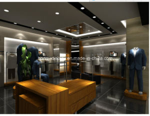 Men Garment Shopfitting, Men Clothes Shop Decoration, Store Display pictures & photos
