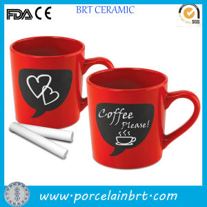 Hot Couple Love Red Coffee Chalkboard Mug pictures & photos