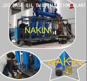 Waste Mixed Oil Distil to New Yellow Base Oil Refinery pictures & photos