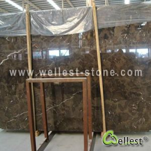 China Dark Emperador Brown Marble Slab pictures & photos