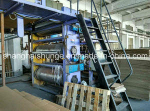 Secondhand 5 Layer Width 1600mm Corrugated Paperboard Production Line.