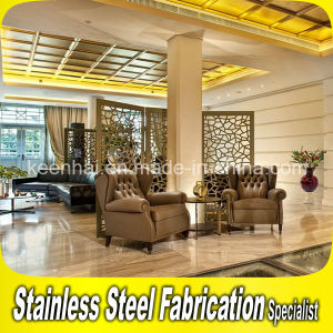 Modern Design Interior Decorative Stainless Steel Room Partition pictures & photos