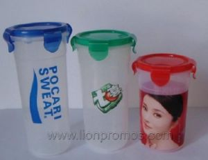 Cheap BPA Free Telecom Bank Promotional Lock Bottle pictures & photos