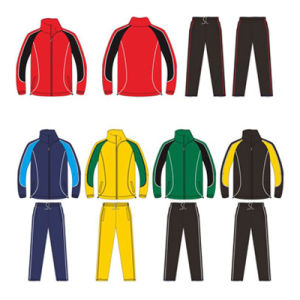 Custom Soccer Tracksuit Warm up Suit Jacket and Pants for Mens pictures & photos