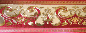 Gold Foil Wallpaper Border (1008) pictures & photos