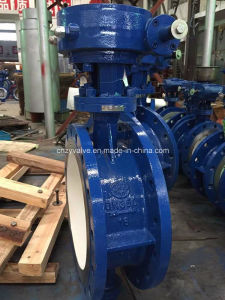 Three-Eccentrci Bidirection Hard Sealing Butterfly Valve (D343H-DN350) pictures & photos