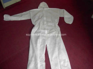 Disposable Protective Clothing SMS Coverall Work Clothes pictures & photos