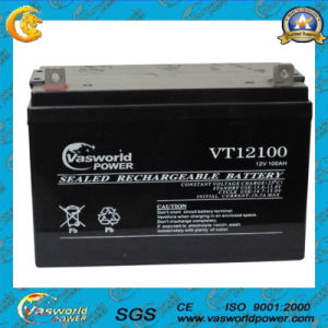 12V 100ah Sealed Solar Battery for UPS Wholesale pictures & photos