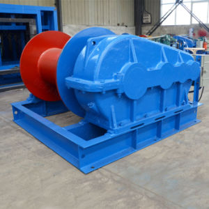 China Supplier High Efficiency Low Speed Electric Winch for Crane pictures & photos