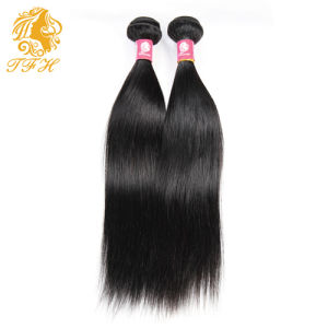 6A Grade 100% Virgin Hair Straight Hair Extension pictures & photos