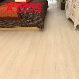 12mm Silk Surface V-Groove HPL Flooring Laminate Flooring (AN1901) pictures & photos