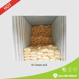 Food Grade Dl-Tartaric Acid (CAS: 133-37-9)