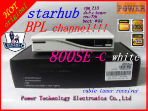 Starhub Singapore Cable TV Receiver 800se with Bpl Channel Software