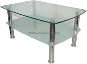 Tempered Glass Coffee Table with AS/NZS2208: 1996, Bs6206, En12150 pictures & photos