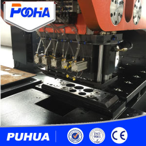 Hydraulic CNC Punching Machine for Thick Sheet Plate pictures & photos