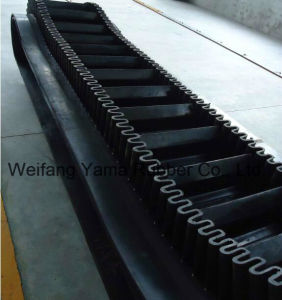Rubber Conveyor Belt with Cleat and Skirt Width 500mm to 2400mm Thickness 12mm