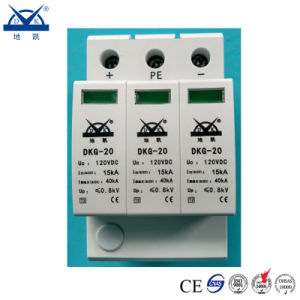 Solar Photovoltaic System DC 1000V 3p PV Surge Protective Device (SPD) pictures & photos