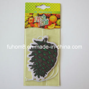 Fruit Fragrance Paper Air Freshener pictures & photos