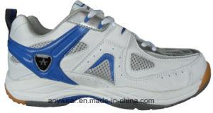 Mens Indoor Court Badminton Shoes Table Tennis Footwear (815-9267) pictures & photos