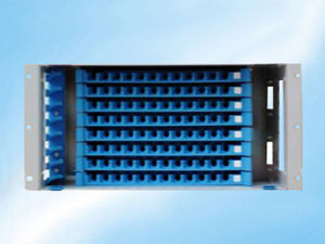 Promotional Prices Rack Mount Sliding 24 72 96 Port Patch Panel pictures & photos