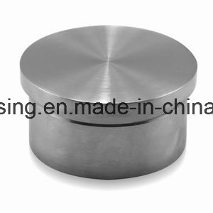 Stainless Steel Railing Cap Solid Design for Round Tube Handrails pictures & photos