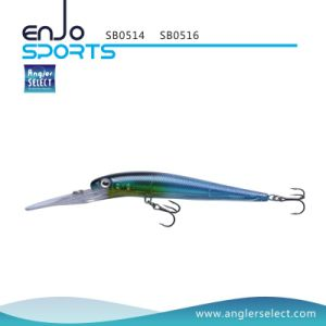 16cm Stick Bait Deep Diving Fishing Gear Fishing Lure with Vmc Treble Hooks pictures & photos