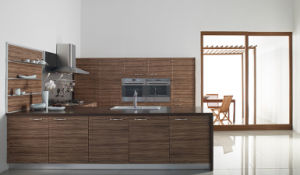 Matte Finish Kitchen Furniture with Melamine Island (zg-036) pictures & photos