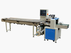 Pillow Packaging Machine for Biscuit in Pillow Bag pictures & photos