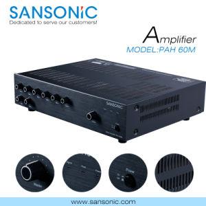 60W Professional Mixer Amplfier for Pubulic (PAH-60M)