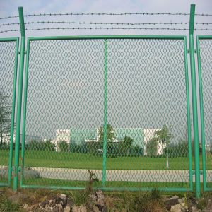 PVC Green Wire Mesh Fence Panels for Farm pictures & photos