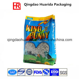 Side Gusset Animal Feed Packaging Bag/Cat Litter Bag pictures & photos