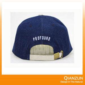 Fashion Blue 6 Panel Snapback Caps pictures & photos