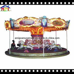 12 Seats Merry-Go-Around Amusement Equipment for Family Fun Carousel Ride pictures & photos