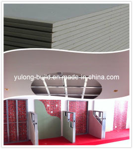 Manufacture Gypsum Board /Plasterboard with Good Quality pictures & photos