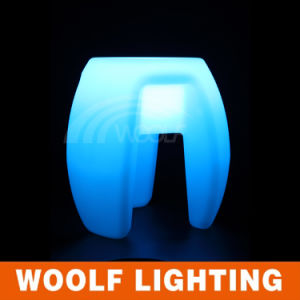 LED Coffee Chair Rechargeable Light up Bar Chair pictures & photos